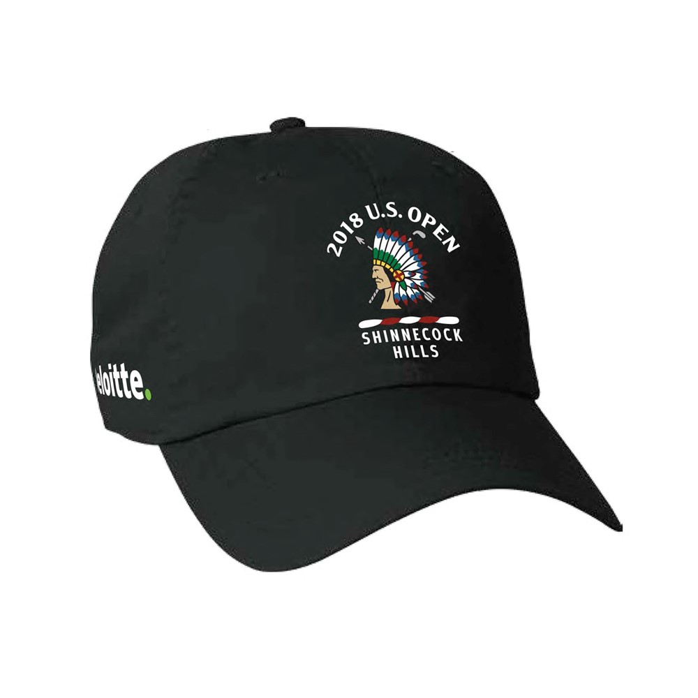 2018 U S  Open Deloitte Lightweight Cap at FULL TURN DIRECT in BLACK