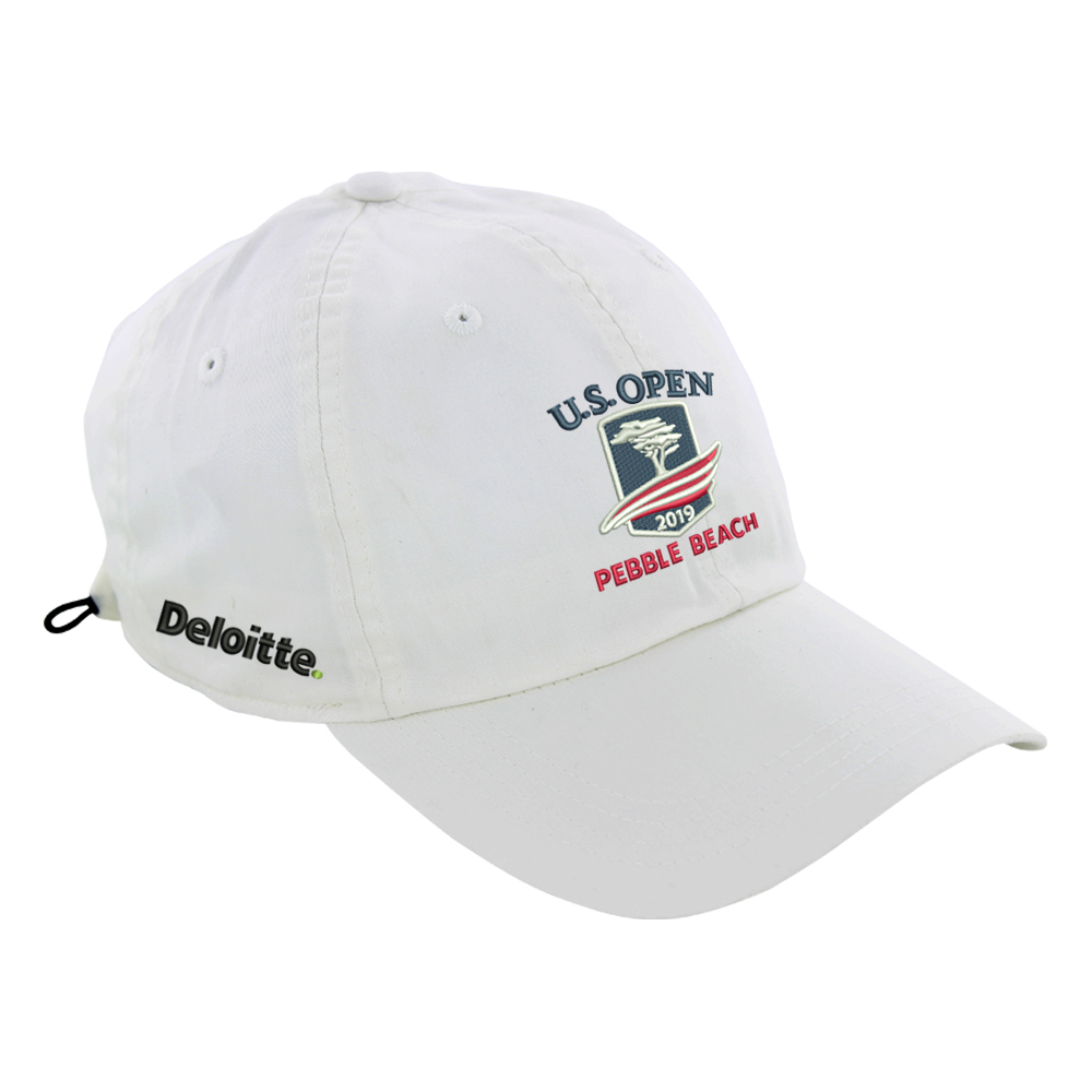 2019 U S  Open Deloitte Lightweight Hat at FULL TURN DIRECT in BLACK